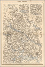 Virginia and Civil War Map By Edouard Dumas Vorzet