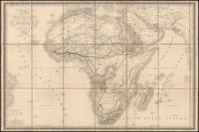 Africa and Africa Map By J. Andriveau-Goujon