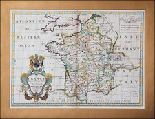 Europe and France Map By Edward Wells