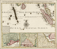 Southeast Asia and Other Islands Map By Jan Barend Elwe