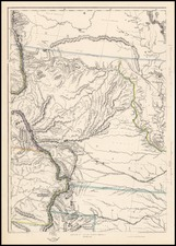 Plains and Rocky Mountains Map By Weekly Dispatch