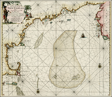 New England and Canada Map By Johannes Van Keulen