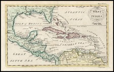 South, Southeast and Caribbean Map By Andrew Bell