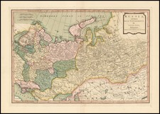 Europe, Poland, Russia, Ukraine, Asia, Central Asia & Caucasus and Russia in Asia Map By Samuel Dunn