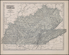 South Map By Sidney Morse  &  Samuel Breese