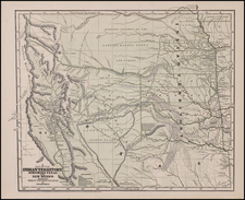 Texas, Plains, Southwest and Rocky Mountains Map By Sidney Morse  &  Samuel Breese