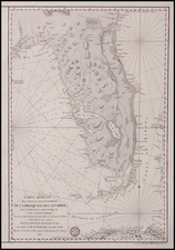 Florida and Southeast Map By Antoine Sartine