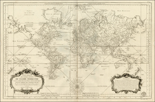 World Map By Antoine Sartine