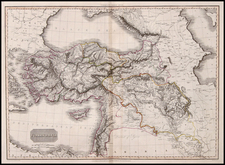 Europe, Turkey, Balearic Islands, Asia, Middle East and Turkey & Asia Minor Map By John Pinkerton