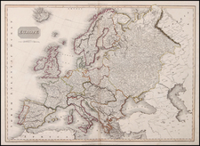 Europe and Europe Map By John Pinkerton