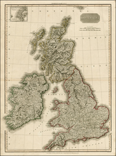British Isles Map By John Pinkerton