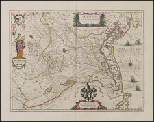 Italy Map By Willem Janszoon Blaeu