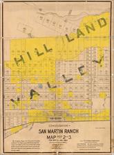 California Map By Hermann Bros