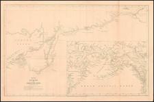 Alaska and Canada Map By John Arrowsmith