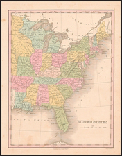 United States Map By Anthony Finley