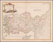 Europe, Turkey, Mediterranean, Balearic Islands, Asia and Turkey & Asia Minor Map By Didier Robert de Vaugondy
