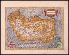Ireland Map By Gerhard Mercator