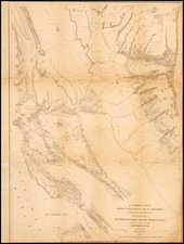 California Map By Charles Wilkes / F.D. Stuart