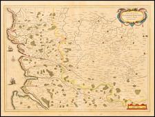 France Map By Jodocus Hondius