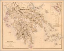 Balkans and Greece Map By Archibald Fullarton & Co.