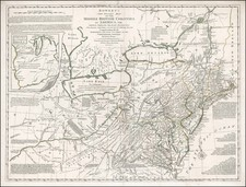Mid-Atlantic and Midwest Map By Carington Bowles / Lewis Evans