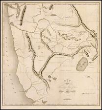 Rocky Mountains and California Map By Benjamin L.E. Bonneville
