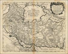 Middle East Map By Giacomo Giovanni Rossi - Giacomo Cantelli da Vignola