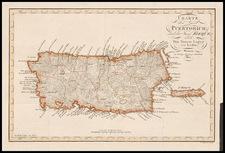 Caribbean Map By Weimar Geographische Institut