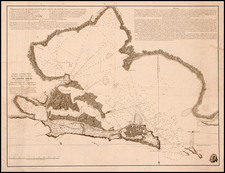 Caribbean Map By Cosme Damian de Churruca y Elorza