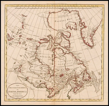 World, Polar Maps, Midwest and Canada Map By William Guthrie