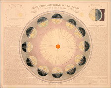 World, Curiosities and Celestial Maps Map By Eugène Andriveau-Goujon