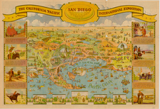 California Map By Don Bloodgood