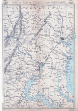 Mid-Atlantic and Southeast Map By Edward Weller / Weekly Dispatch