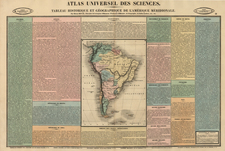 South America Map By Henri Duval