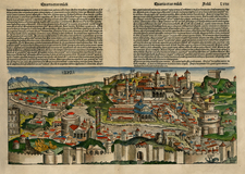 Europe and Italy Map By Hartmann Schedel