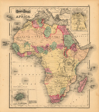 Africa and Africa Map By OW Gray