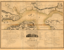 New England and Canada Map By John Melish