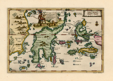 Asia and Southeast Asia Map By Pieter van der Aa