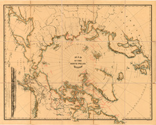 World, Polar Maps, Alaska and Canada Map By William Bauman / The Graphic Co.