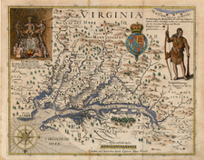 Mid-Atlantic, South and Southeast Map By John Smith