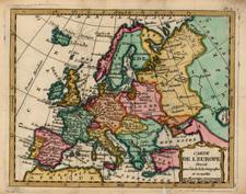 Europe and Europe Map By Joseph De La Porte