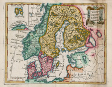 Scandinavia Map By Joseph De La Porte