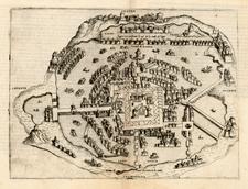 Mexico Map By Bolognini Zaltieri / Giulio Ballino