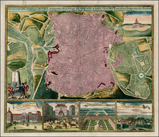 Spain Map By Homann Heirs