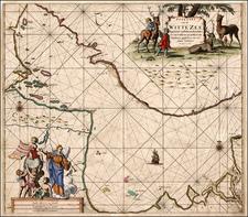 Russia and Scandinavia Map By Johannes Van Keulen