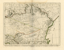 Russia Map By Giovanni Antonio Remondini