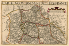 France Map By Jean Le Clerc / Jean Picart