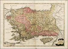 Europe, Turkey, Balearic Islands, Asia and Turkey & Asia Minor Map By Tipografia del Seminario