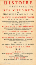 Title Pages and Curiosities Map By Francois Didot