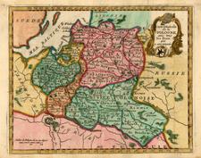 Europe, Poland, Russia and Baltic Countries Map By Joseph De La Porte